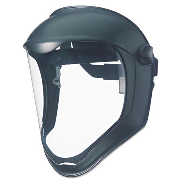 Bionic Face Shield, Matte Black Frame, Clear Lens