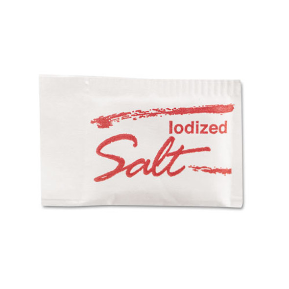 Salt Packets, 0.75 Grams, 3,000/carton