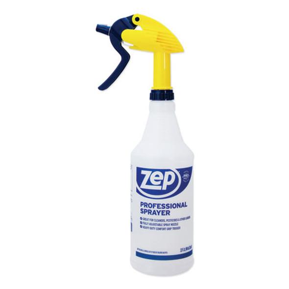 Professional Spray Bottle, 32 Oz, Blue, Gold Clear, 36/carton
