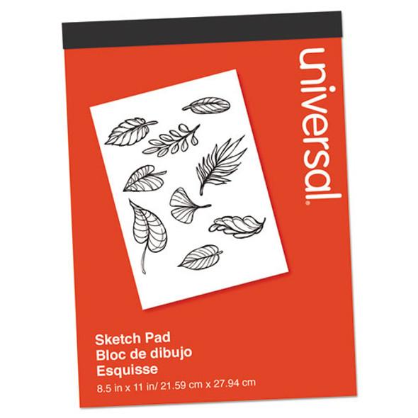 Sketch Pad, 160 Lb, 8.5 X 11, White, 70 Sheets