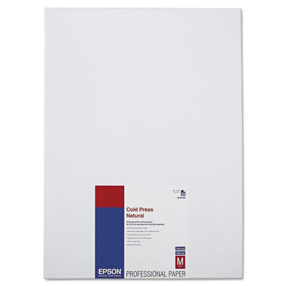 Cold Press Fine Art Paper, 21 Mil, 13 X 19, Textured Matte Natural, 25/pack
