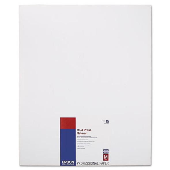 Cold Press Fine Art Paper, 21 Mil, 17 X 22, Textured Matte Natural, 25/pack