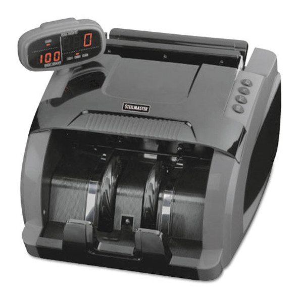 4800 Currency Counter, 1080 Bills/min, 9 1/2 X 11 1/2 X 8 3/4, Charcoal Gray