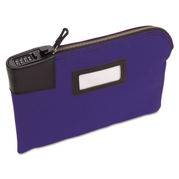 Classic Combination Deposit Bag, 11 X 1 X 8 1/2, Durablock, Blue