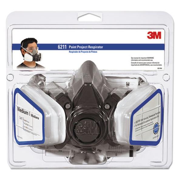 Half Facepiece Paint Spray/pesticide Respirator, Medium