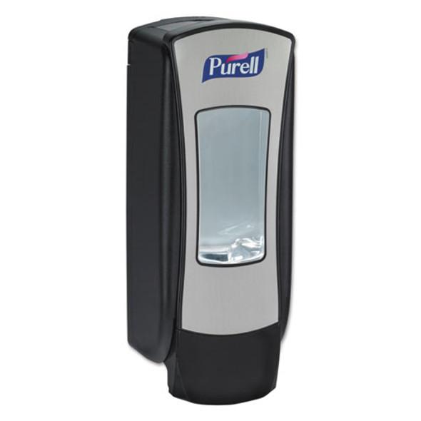 "Adx-12 Dispenser, 1200 Ml, 4.5"" X 4"" X 11.25"", Chrome/black"