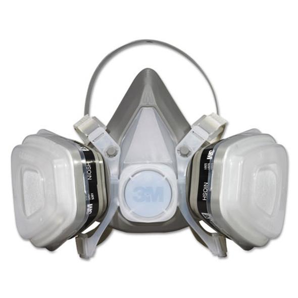 Dual Cartridge Respirator Assembly 52p71, Organic Vapor/p95, Medium