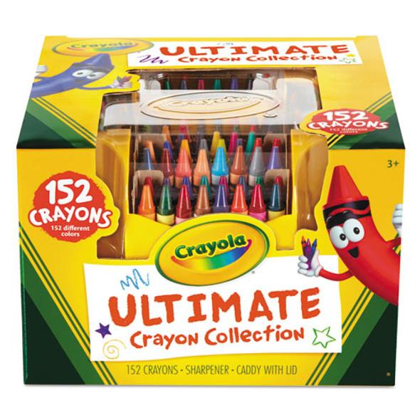 Ultimate Crayon Case, Sharpener Caddy, 152 Colors