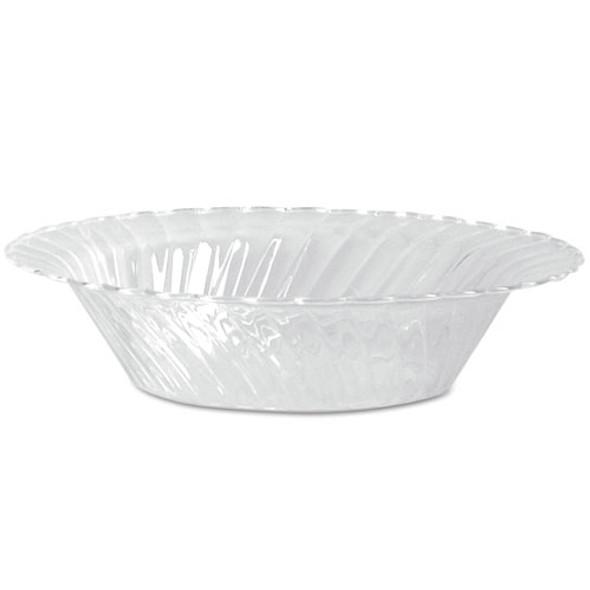 Classicware Plastic Dinnerware, Bowls, Clear, 10 Oz, 18/pack, 10 Packs/ct