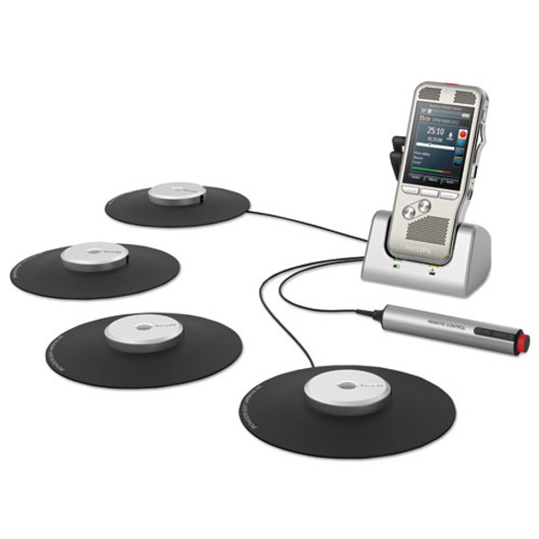 Pocket Memo Conference Recording And Transcription System 2gb, Silver