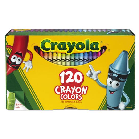 Classic Color Crayons, Tuck Box, 120/box