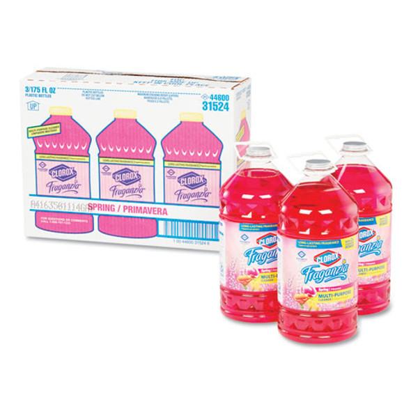Fraganzia Multi-purpose Cleaner, Spring Scent, 175 Oz Bottle, 3/carton