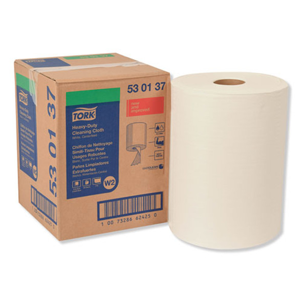 Heavy-duty Cleaning Cloth, 12.6 X 10, White, 400/carton