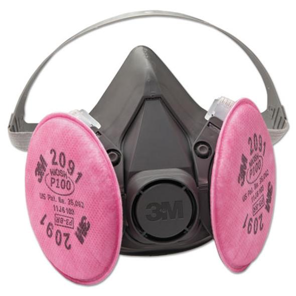 Half Facepiece Respirator 6000 Series, Reusable - IVSMMM6391
