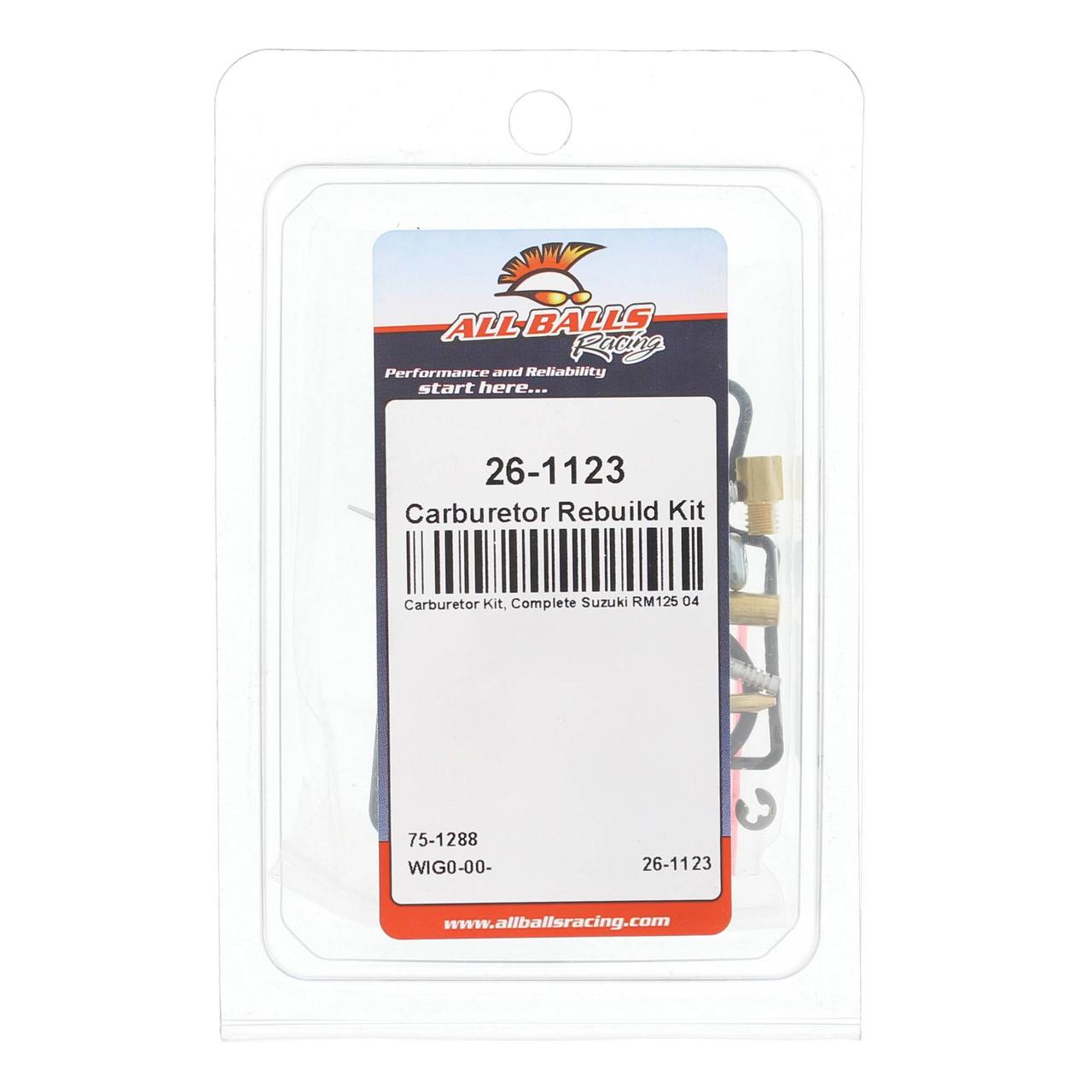 ALL BALLSCARB REPAIR KIT Suzuki RM125 2004 26-1123