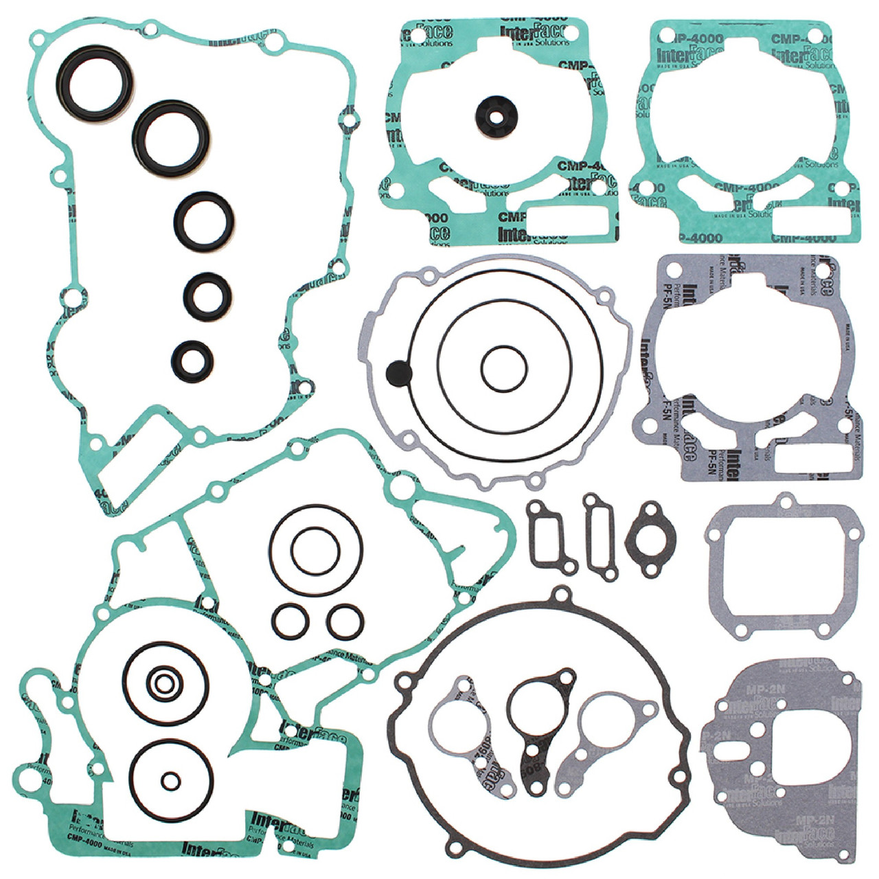 Winderosa Gasket Kit With Oil Seals for KTM 200 XC-W 13 14 15 16
