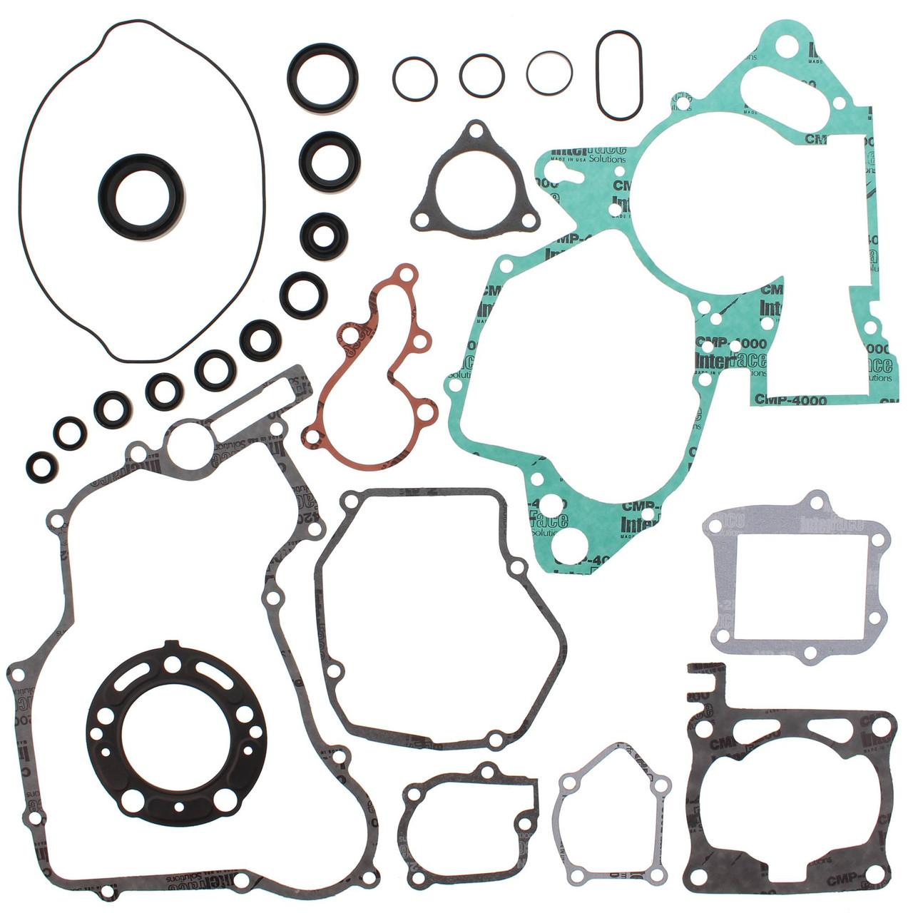 Winderosa Gasket Kit With Oil Seals for Honda CR 125 R 57 5MM OB 05 06 07