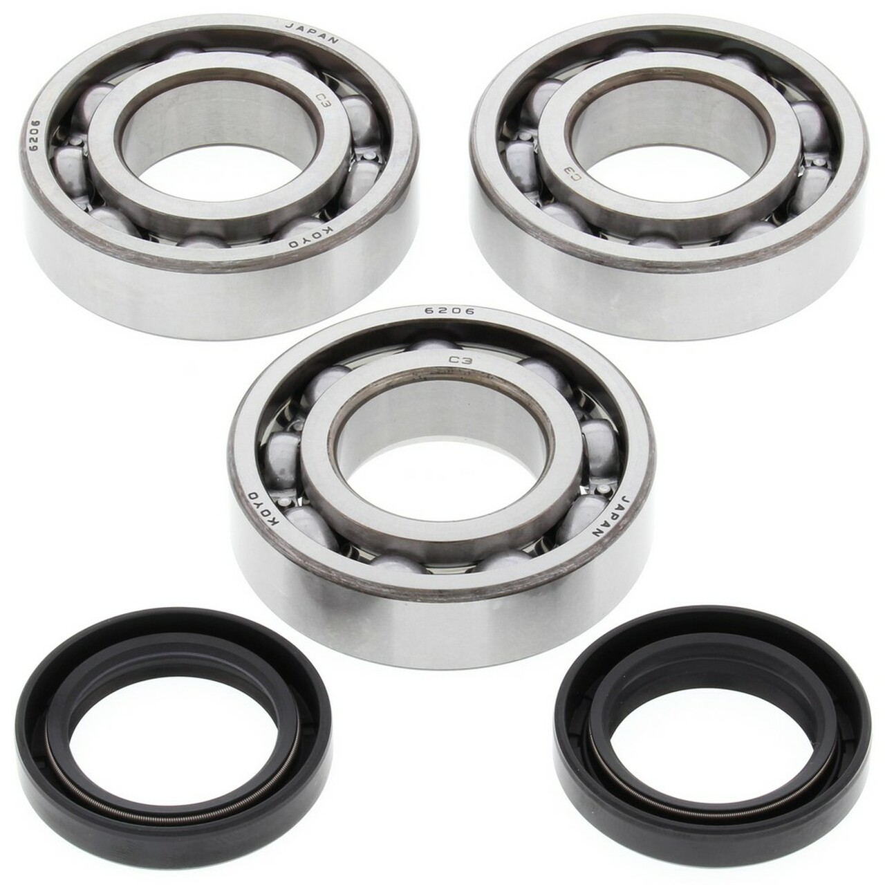 New All Balls Crank Bearing and Seal Kit 24-1092 for Polaris Trail Blazer 250 2