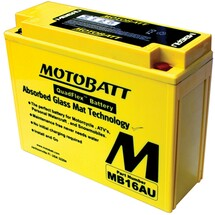 Motobatt MB16AU 20.5Ah Battery