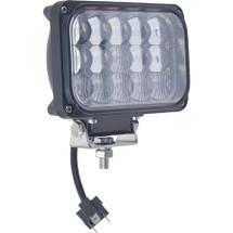 """J&N Driving Light, 12/24V, LED, White, 7.5"""""""