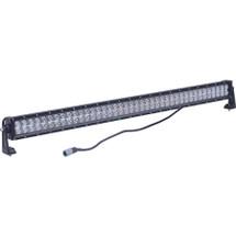 """J&N Bar Light, 12/24V, LED, 6,800 Lumens, White, 41.5"""", Spot/Flood, Black Housing"""