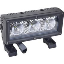 """J&N Bar Light, 12/24V, LED, 2,400 Lumens, White, 7"""", Flood"""