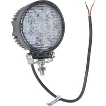 """J&N Work Light, 12/24V, LED, 1,200 Lumens, White, 4.50"""", Flood, Narrow"""