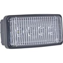 J&N Driving Light, 12/24V, LED, 950 Lumens, White, Flood, Black Housing