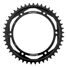 Supersprox Rear Steel Sprocket Black 45T For Triumph Daytona 955 i 99-06