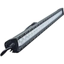"""J&N Bar Light, 12/24V, LED, 10,800 Lumens, White, 39"""", Spot/Flood, Black Housing"""