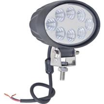 """J&N Work Light, 12/24V, LED, 2,000 Lumens, White, 5.5"""", Flood"""