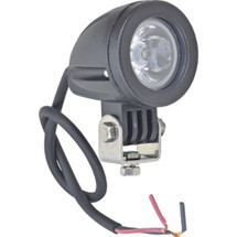 """J&N Work Light, 12/24/36/48/60V, LED, 750 Lumens, White, 1.7"""", Spot"""