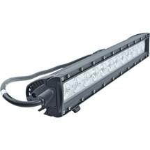 """J&N Bar Light, 12/24V, LED, 5,040 Lumens, White, 20"""", Spot/Flood, Black Housing"""