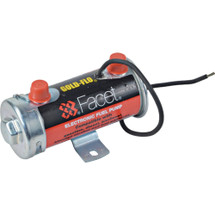 """New Cylindrical Solid State Fuel Pump 12V, 2.75-4PSI, 24"""" Min Dry Lift, 34 GPH"""