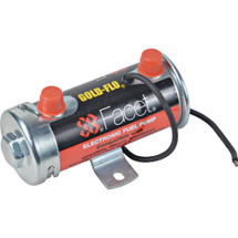 """New Cylindrical Solid State Fuel Pump 24V, 6-8PSI, 24"""" Min Dry Lift, 30 GPH"""
