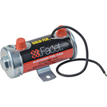 """Cylindrical Solid State Fuel Pump 12V, 4-5.5PSI, 24"""" Min Dry Lift FPF-40131N"""