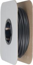 "606-18027 3/16"" Sealed Heat Shrink Tubing; 100' Spool; Black for Universal"