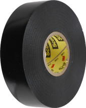 """900-10022 Black Electrical Tape; 3/4"""" x 66'; 7mil Thick for Universal"""