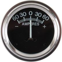 60 Amp Amperage Gauge- Farm Tractor,Auto, Others - Not Lighted