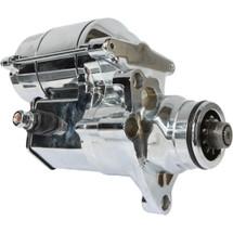Starter for Chrome Harley FLHR, FLHRC, FLHRS, FLHT, FLHX 2007-2013; SHD0013-C