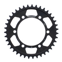 Supersprox Steel Sprocket Black 39T-RFE-2012-39-BLK for Triumph Tiger 800 XCA