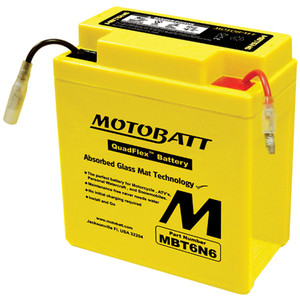 Motobatt MBT6N6 6Ah Battery
