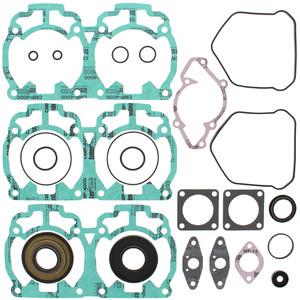 Gasket Kit with Oil Seals For Ski-Doo MX Z X 440 LC 1999 440cc