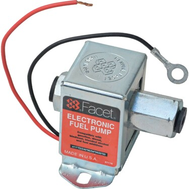"""New Solid State Fuel Pump 12V, 1.5-2.5PSI, 12"""" / 30.48cm Min Dry Lift, 17 GPH"""