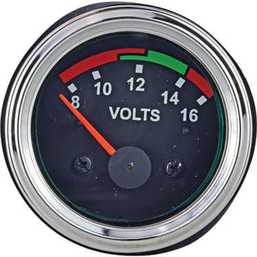 0-18 Volt Voltage Gauge- Lighted 640-01001