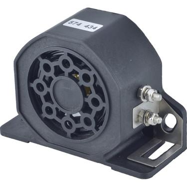 New Backup Alarm 12-24-36-48V  Heavy Duty 102Db Reverse Back Up Black 560-01001