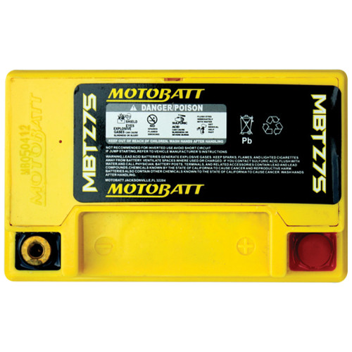 Motobatt MBTZ7S 6.5Ah Battery