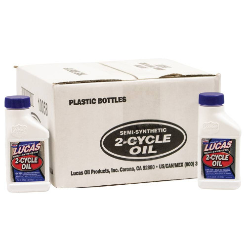24pk of Lucas 2 Cycle Oil for Universal Products