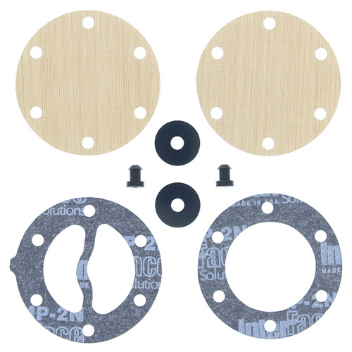 "Winderosa Gasket Kit for Mikuni Small Round DF44K 2 1/16"" Single outlet"
