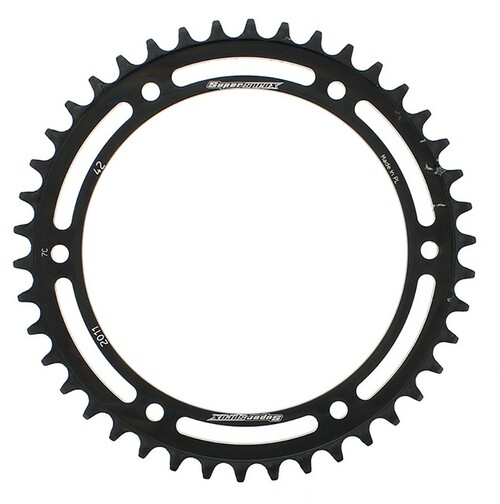 Supersprox Steel Sprocket Black 42T-RFE-2011-42-BLK for Triumph Speed Triple 900